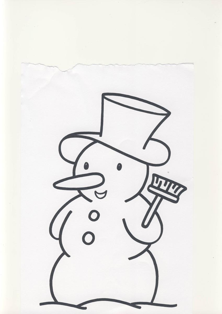 2 3 anni disegni per bambini da colorare for Immagini da copiare a mano