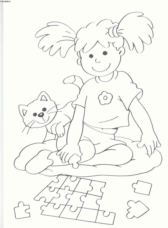 4 5 anni disegni per bambini da colorare for Disegni tratteggiati da colorare