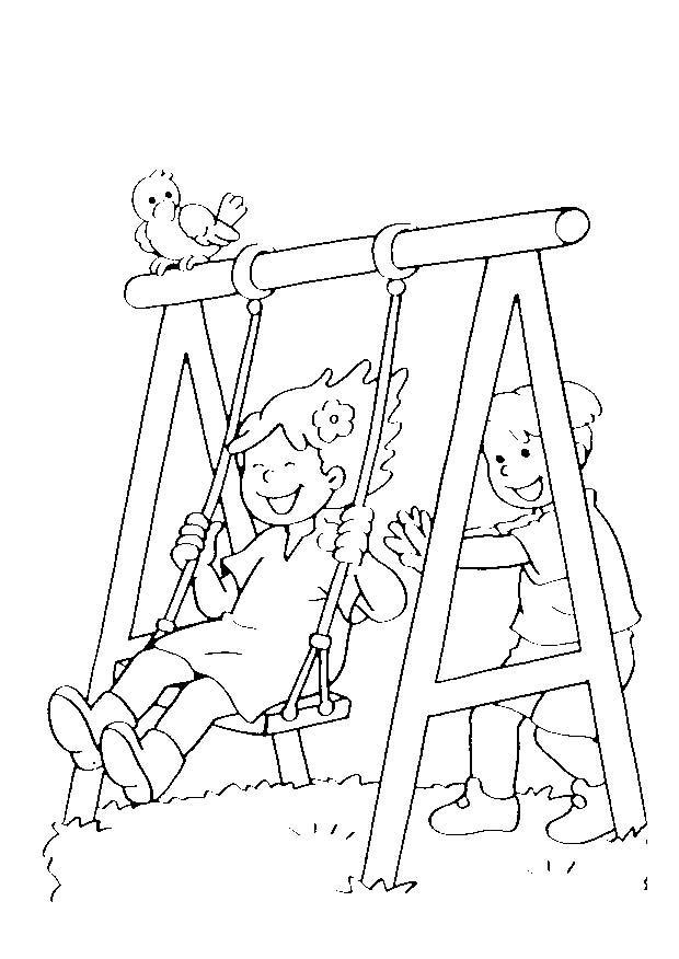 5 6 anni 5 disegni per bambini da colorare for Disegno bambina da colorare