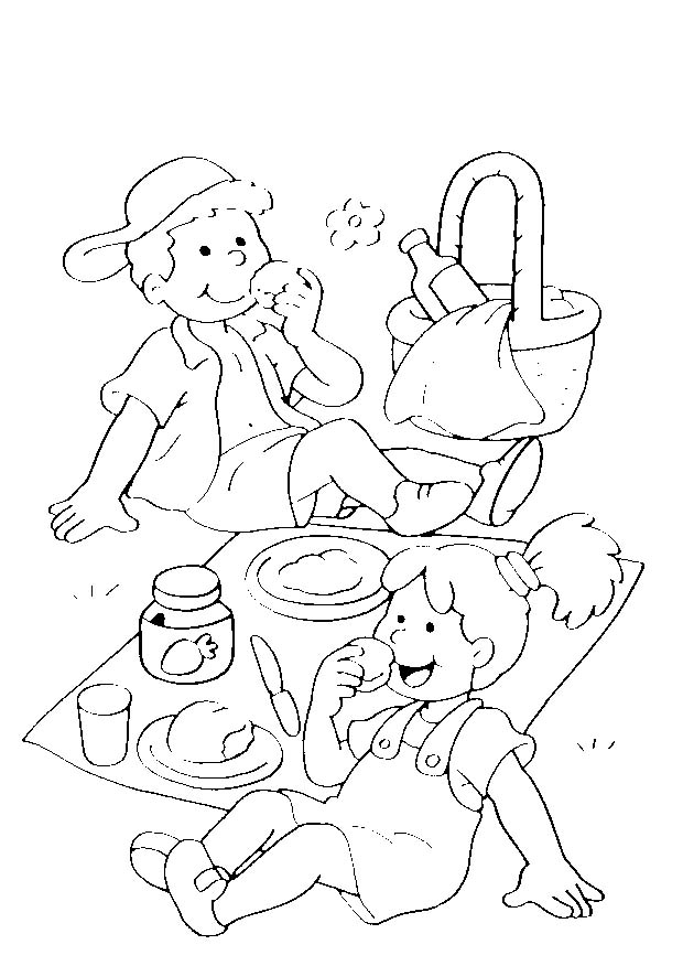 5 6 anni 8 disegni per bambini da colorare for Disegno bambina da colorare