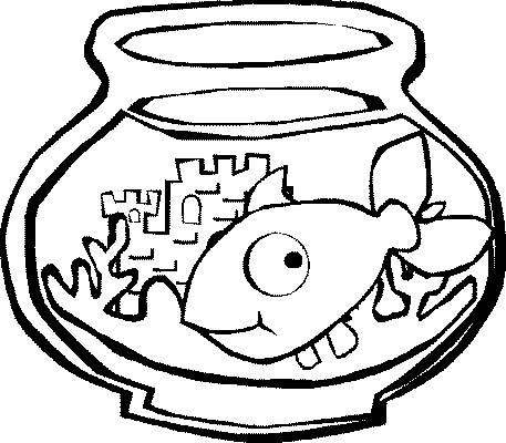 Acquari pesciolini 3 disegni per bambini da colorare for Pesciolini da colorare per bambini