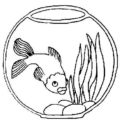Acquari pesciolini 4 disegni per bambini da colorare for Pesciolini da colorare per bambini