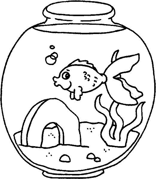 Bien connu Acquari Pesciolini, Disegni per bambini da colorare EI78