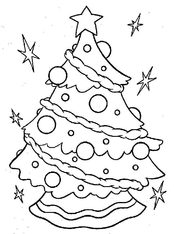 Disegni Di Natale Particolari.Alberi Natale 3 Disegni Per Bambini Da Colorare