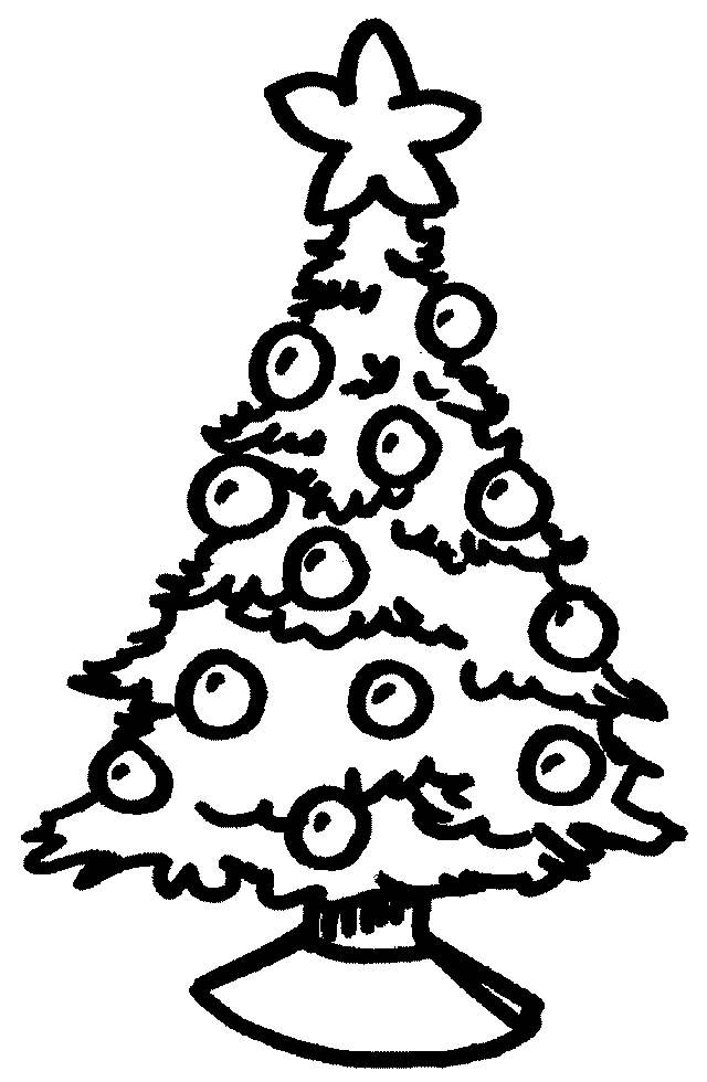 Disegni Da Colorare Albero Di Natale.Alberi Natale 3 Disegni Per Bambini Da Colorare