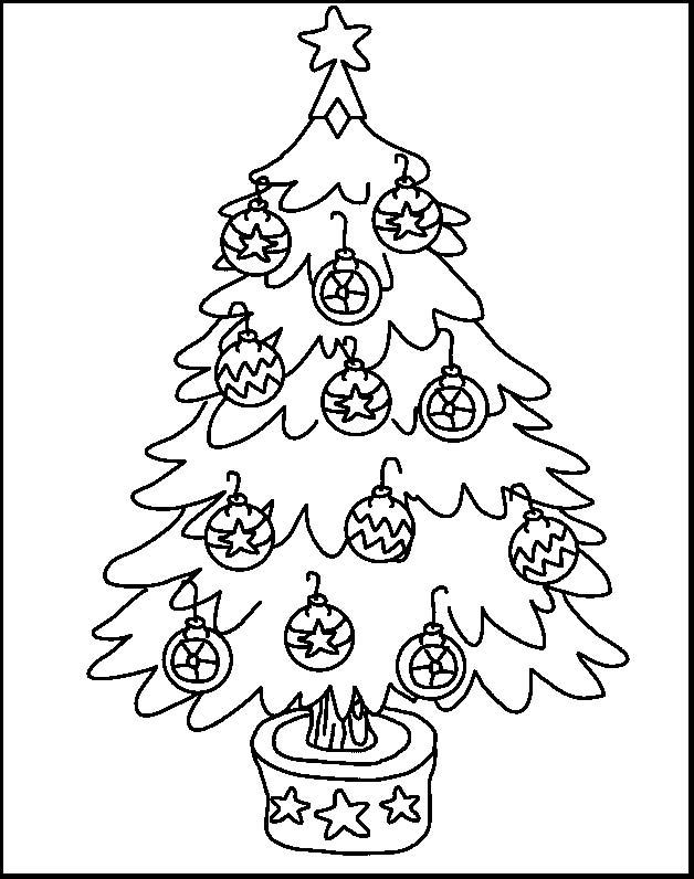 Alberi natale 2 disegni per bambini da colorare for Pintura color albero