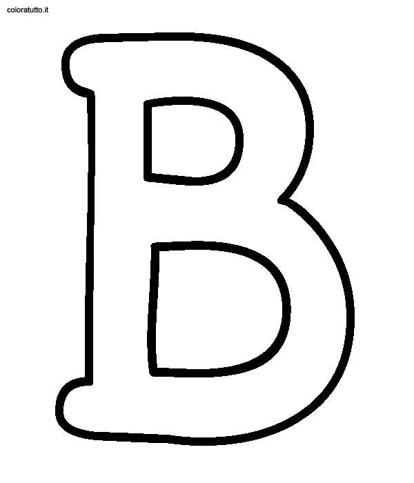 Favorito Alfabeto Stampatello Maiuscolo, Disegni per bambini da colorare NL34