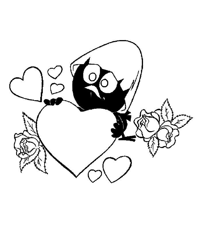 Amore 6 Disegni Per Bambini Da Colorare