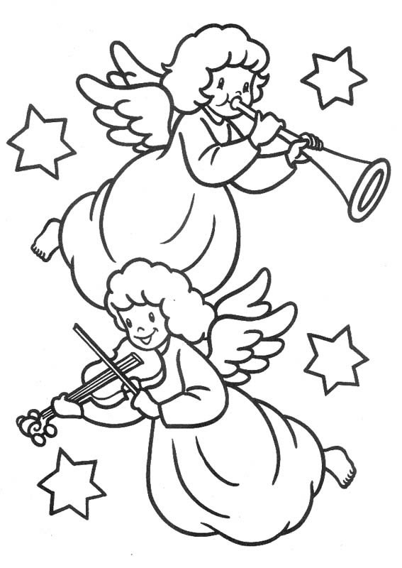 Angeli Disegni Per Bambini Da Colorare