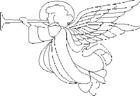 Angeli 2 disegni per bambini da colorare for Disegni da colorare angeli