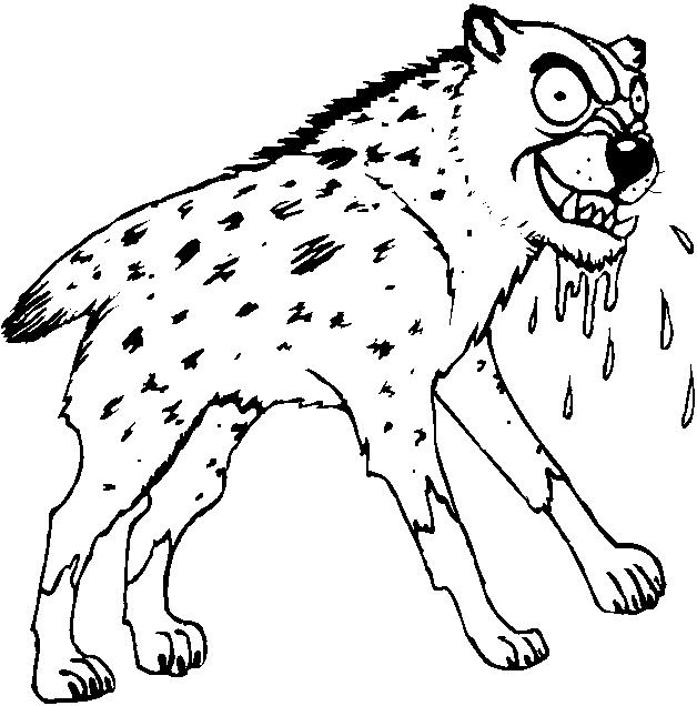 Animali del deserto disegni per bambini da colorare for Cane da disegnare per bambini