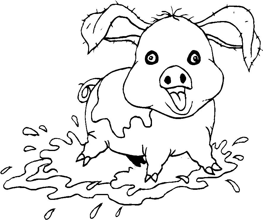 Animali fattoria disegni per bambini da colorare for Disegna i piani domestici online