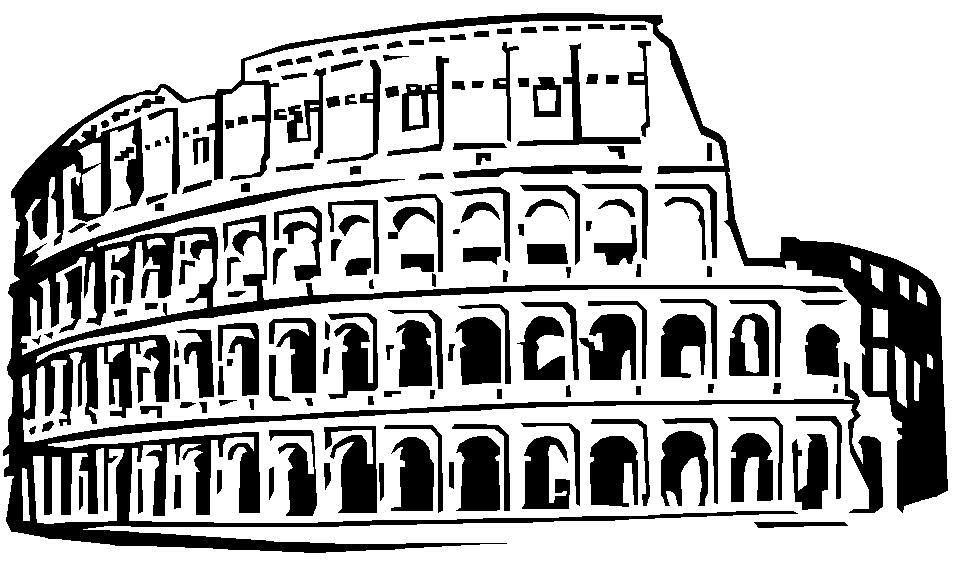 Lusso immagini del colosseo da colorare facili e veloci da for Colosseo da colorare