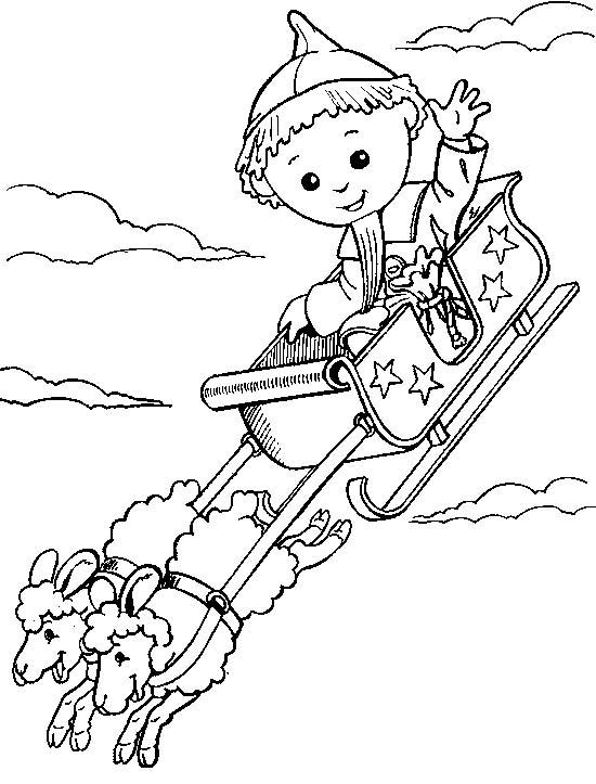 baby loulou disegni per bambini da colorare