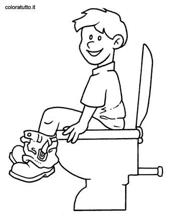 Bagno 2, Disegni per bambini da colorare