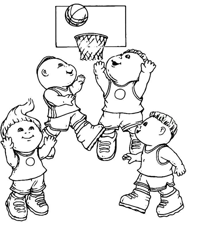 Bamboline Disegni Per Bambini Da Colorare