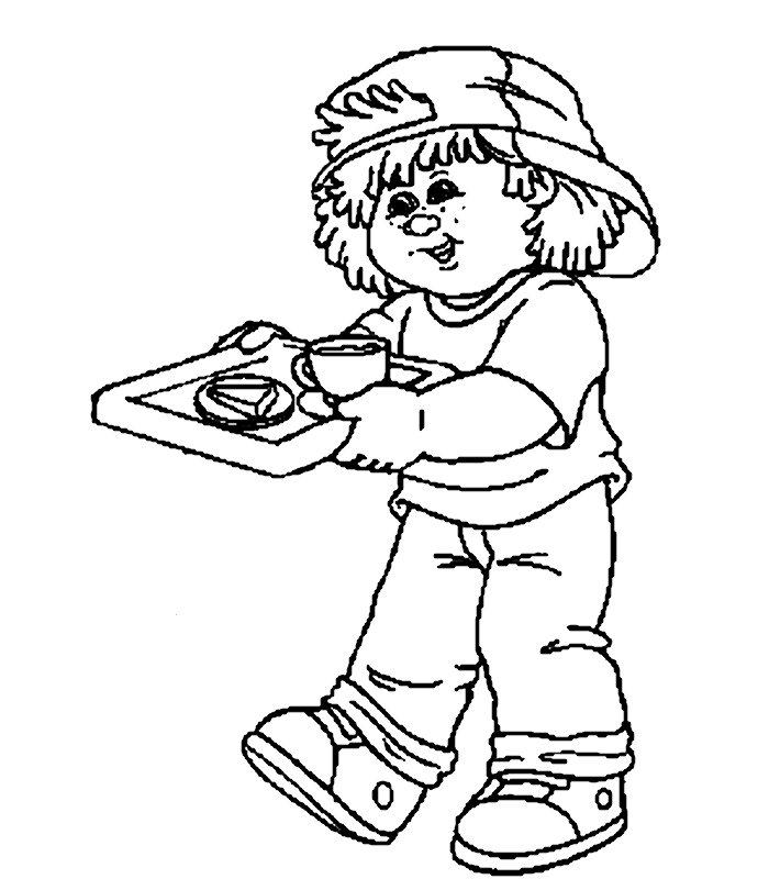 Bamboline 3 Disegni Per Bambini Da Colorare