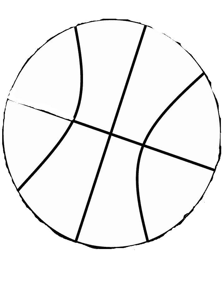 Basket Disegni Per Bambini Da Colorare