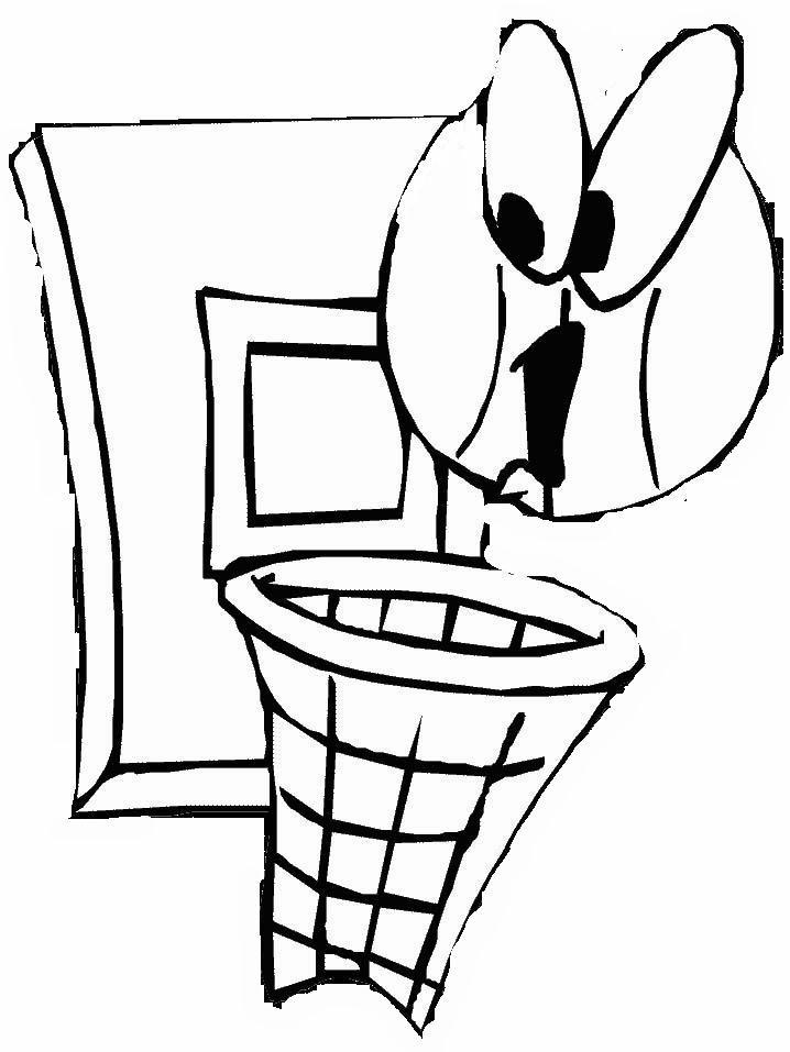 Basket disegni per bambini da colorare - Immagini sportive da stampare ...