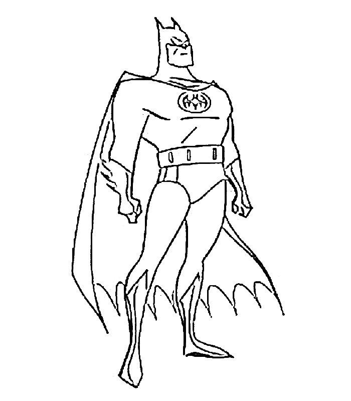 Batman 9 Disegni Per Bambini Da Colorare