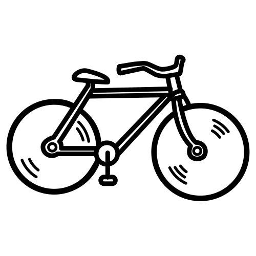 Biciclette 3 Disegni Per Bambini Da Colorare