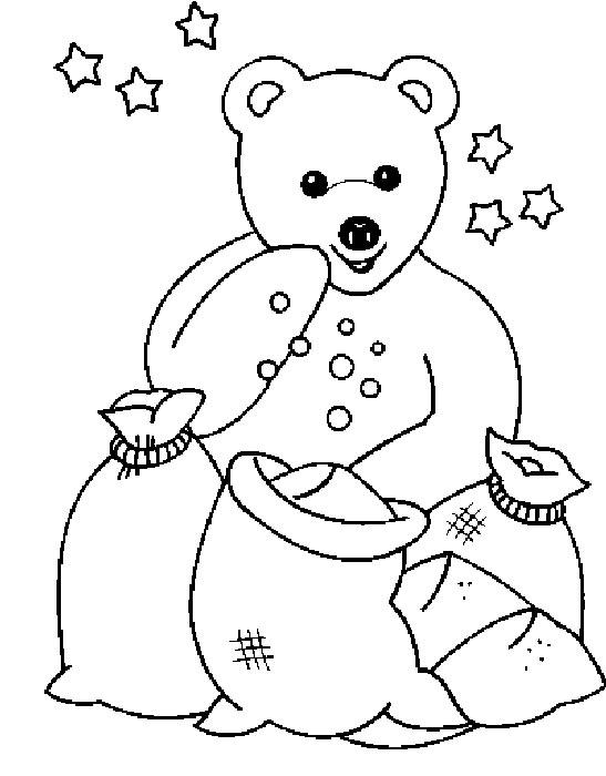 Buonanotte bambini disegni per bambini da colorare - Nounours dessin ...