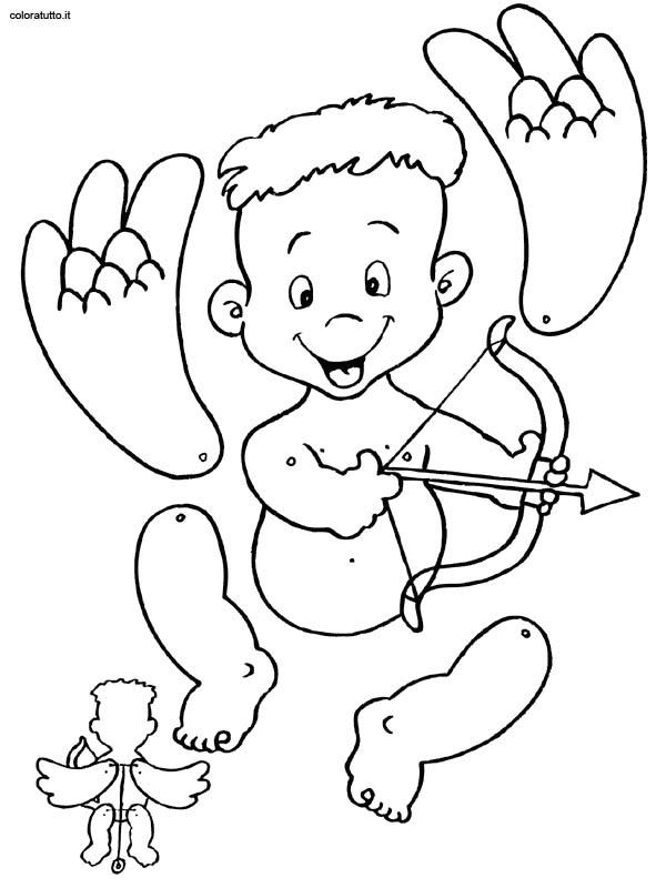 Burattini disegni per bambini da colorare for Disegni da colorare e ritagliare per bambini