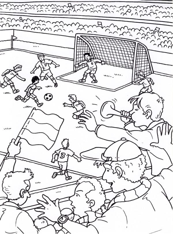 Calcio 4 disegni per bambini da colorare for Calciatori da colorare per bambini