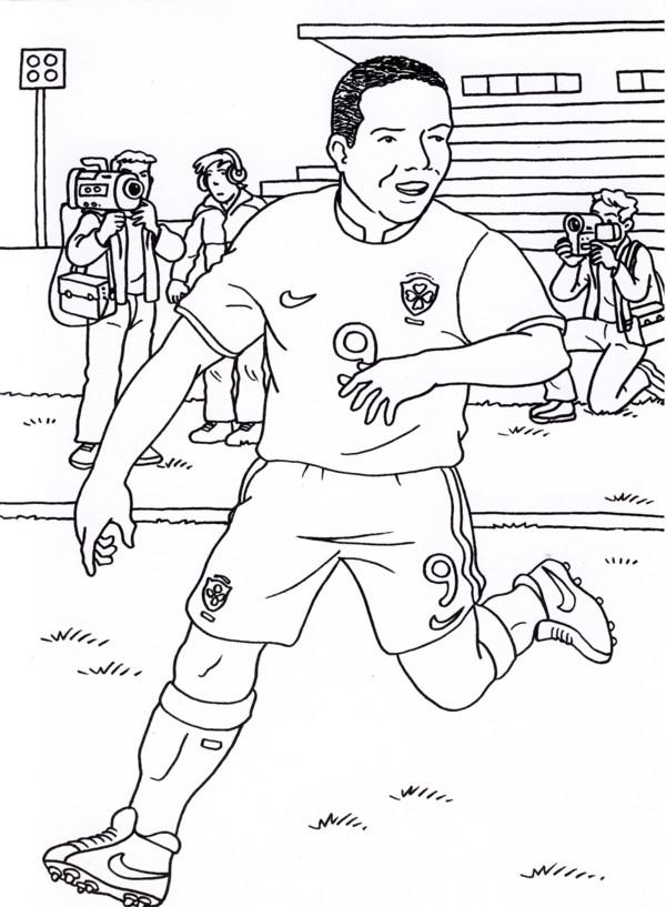 Calcio 5 disegni per bambini da colorare for Disegni calciatori da colorare per bambini