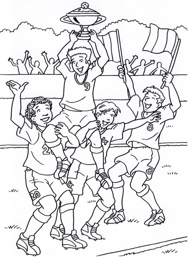 Calcio 5 disegni per bambini da colorare for Calciatori da colorare per bambini