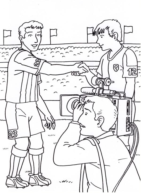 Calcio 7 disegni per bambini da colorare for Cip e ciop immagini da colorare