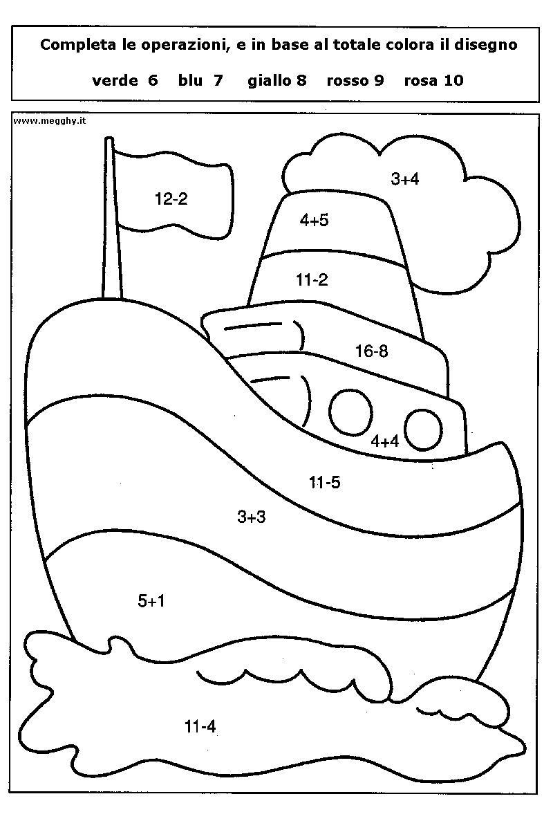 categorie varie calcola e colora 3 calcola e colora 3