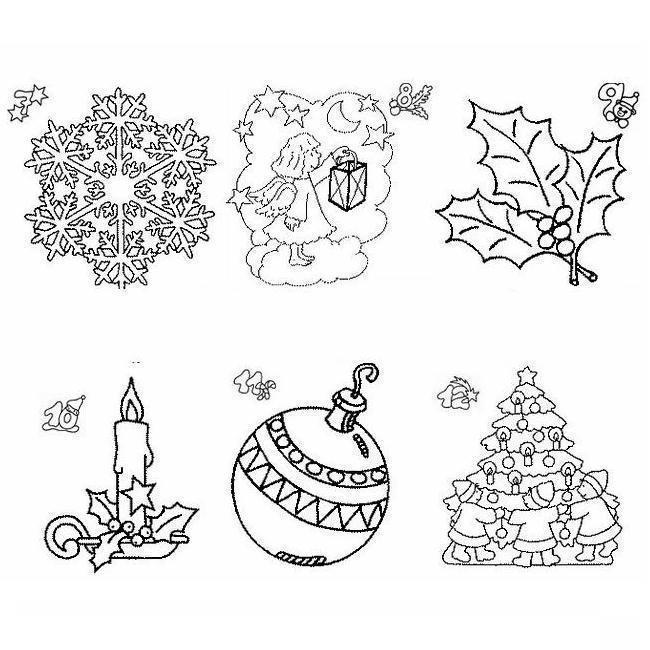 Calendario Natale Disegni Per Bambini Da Colorare