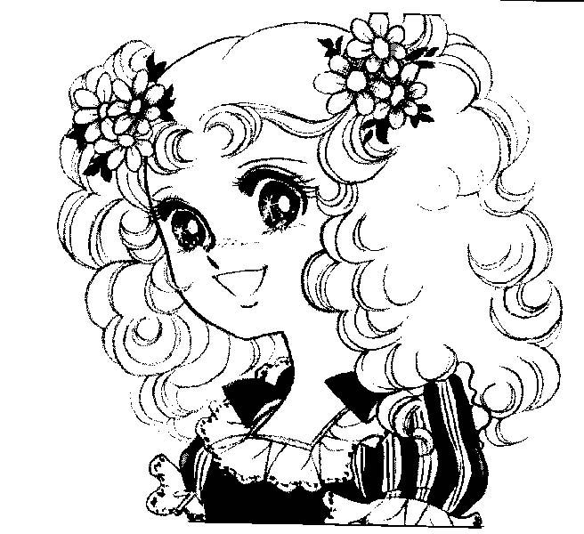 Candy candy 8 disegni per bambini da colorare for Disegni facili da disegnare a mano libera