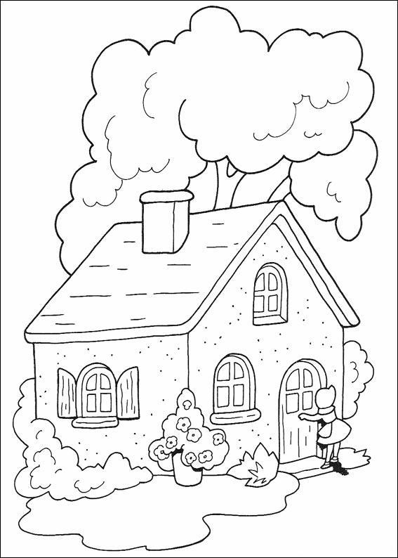 Cappuccetto rosso disegni per bambini da colorare for Disegni casa cottage