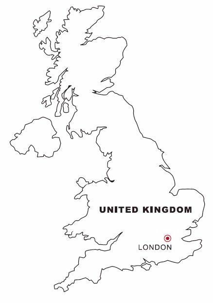Regno Unito Cartina Da Colorare.Cartine 40 Disegni Per Bambini Da Colorare