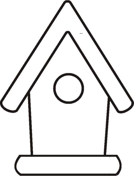 Casette Uccellini 5 Disegni Per Bambini Da Colorare