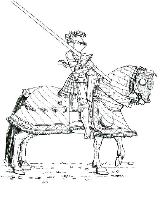 Disegni Da Colorare Cavalli E Cavalieri.Cavalieri Disegni Per Bambini Da Colorare