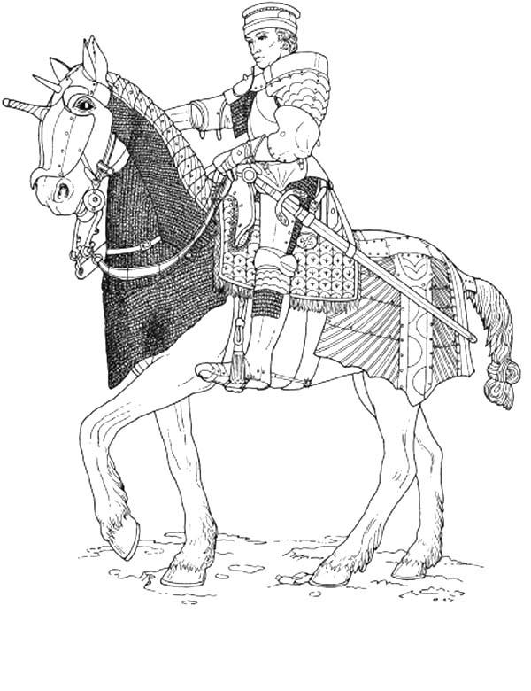 Disegni Da Colorare Cavalli E Cavalieri.Cavalieri 2 Disegni Per Bambini Da Colorare