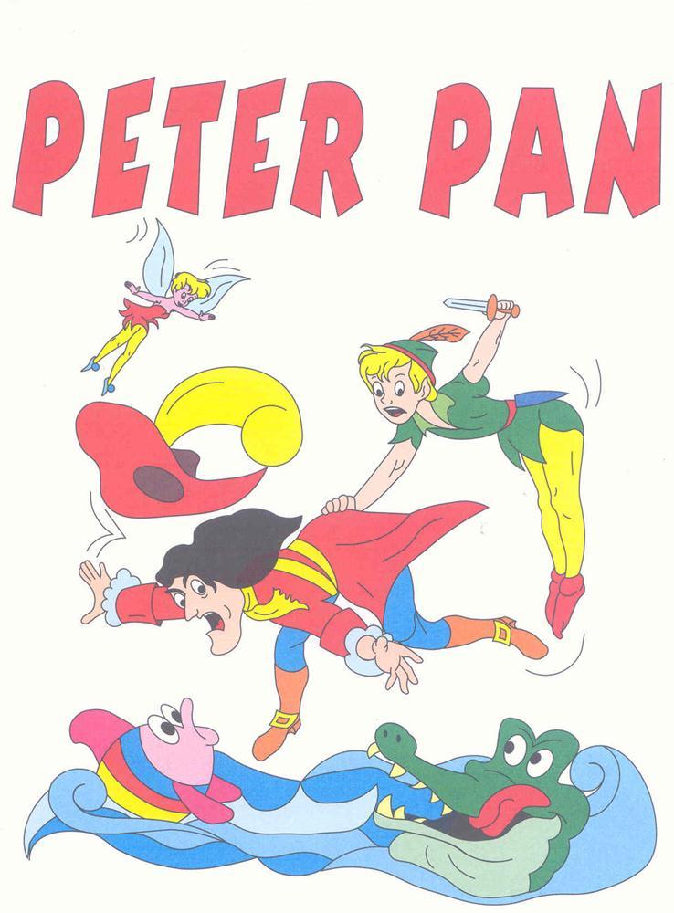 Colora fiaba peter pan 2 disegni per bambini da colorare for Disegni peter pan