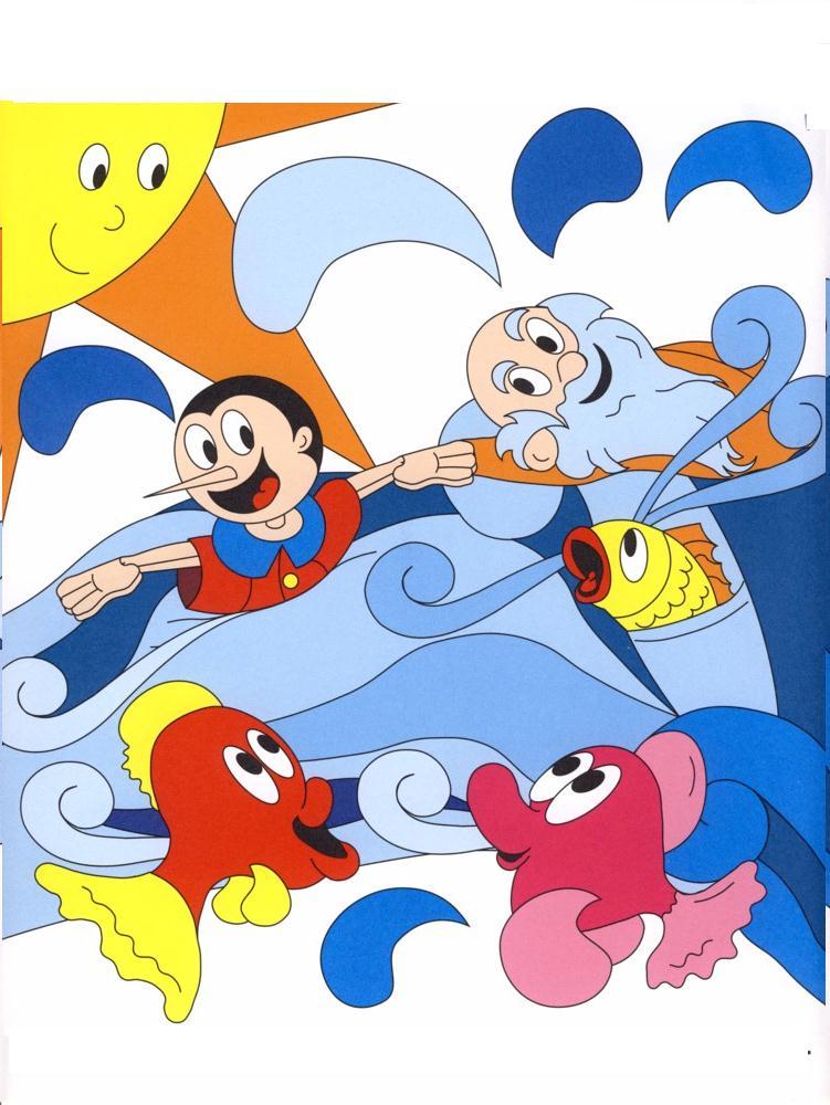 Colora fiaba pinocchio disegni per bambini da colorare - Elfo immagini da stampare gratuitamente ...