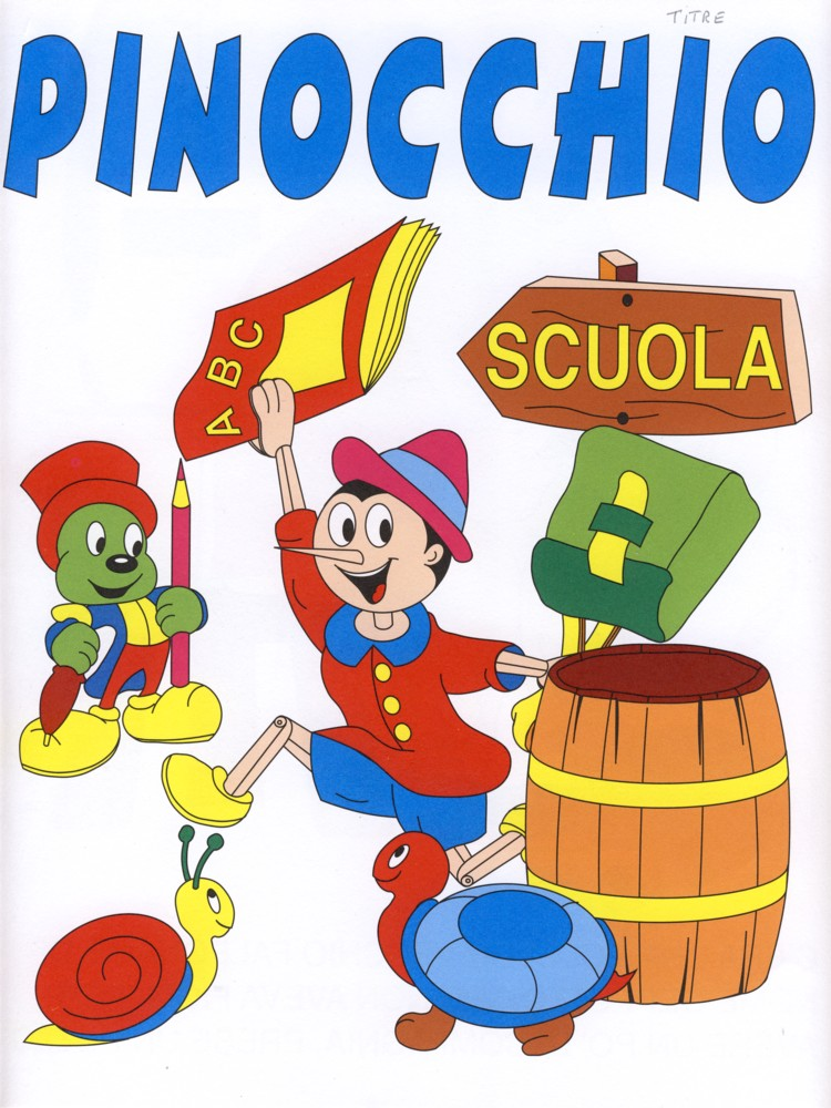 Colora Fiaba Pinocchio Disegni Per Bambini Da Colorare