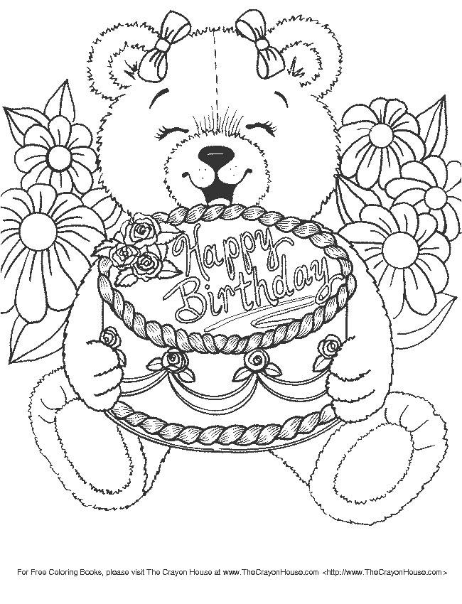 Famoso Compleanno 9, Disegni per bambini da colorare IG73
