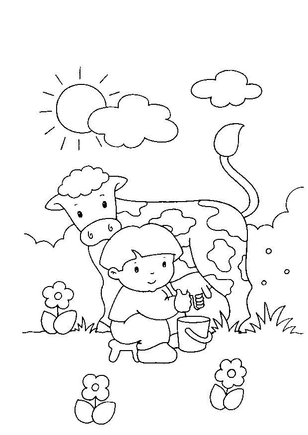 Contadino 3 disegni per bambini da colorare for Immagini da colorare aristogatti