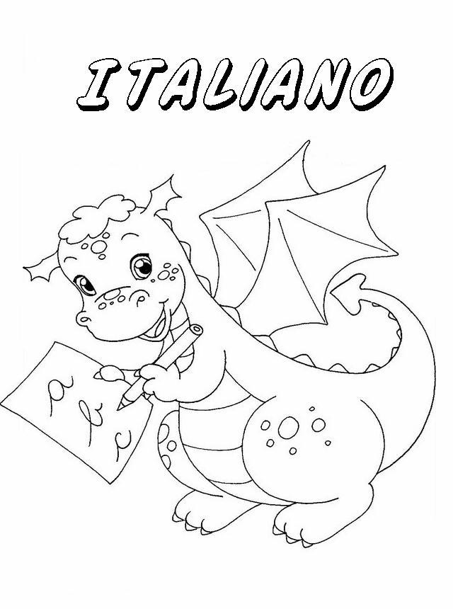 Molto Copertine Quaderni 2, Disegni per bambini da colorare TL21