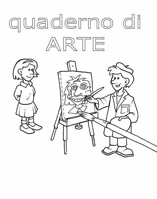 Top Copertine Quaderni 3, Disegni per bambini da colorare YW66