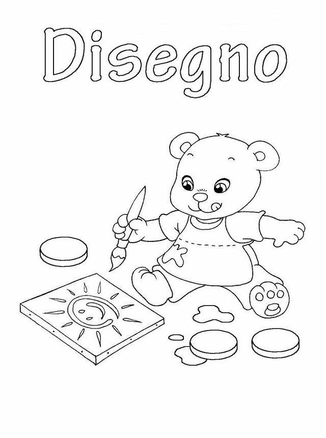 Copertine quaderni 2 disegni per bambini da colorare - Stampa pagine da colorare dinosauro ...