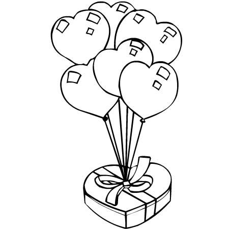 Copia il colore 3 disegni per bambini da colorare - Dessin cadeau anniversaire ...
