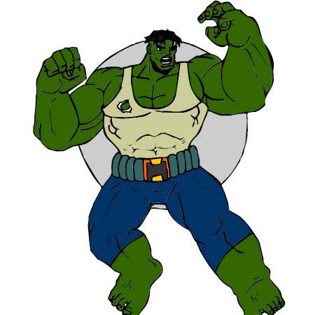 Copia il colore 82 disegni per bambini da colorare - Hulk a imprimer ...
