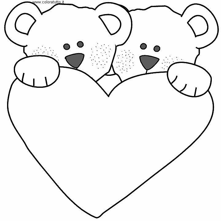 Cuori disegni per bambini da colorare for Immagini da copiare a mano